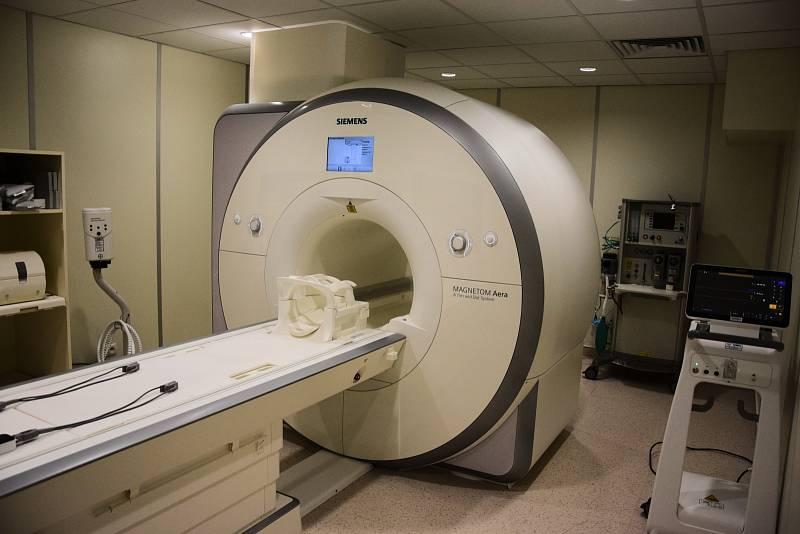 Třebíčská nemocnice uvedla do provozu novou magnetickou rezonanci za 31 milionů.