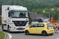 Kamiony by už nemusely ucpávat centrum Náměště nad Oslavou. Rodí se plány na nový přivaděč k dálnici.