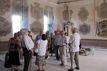 Prohlédnout si jak vypadá třebíčský zámek při právě probíhající velké rekonstrukci mohou zájemci při komentovaných prohlídkách, které každou středu pořádá Muzeum Vysočiny Třebíč.