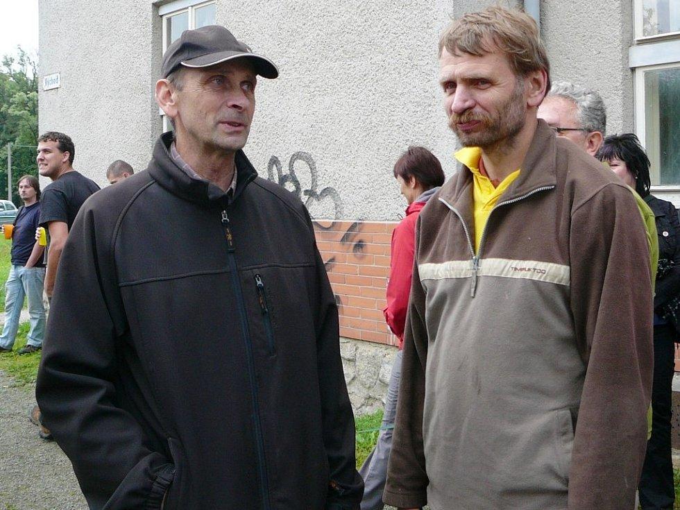 Starosta Jemnice Miloslav Nevěčný v rozhovoru s Martinem Kouřilem.
