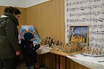 Na 58 betlémů se představilo na výstavě v Pyšelu. Jednotlivá díla hýřila originalitou. Nechyběl skleněný, dřevěný, papírový, drátkovaný, látkový ani keramický betlém.