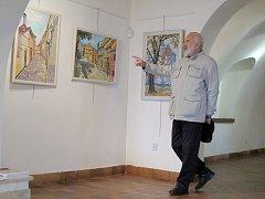Cimrmani v třebíčské galerii.
