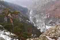 Údolí řeky Oslavy.