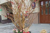 Velikonoční stromek v Hartvíkovicích