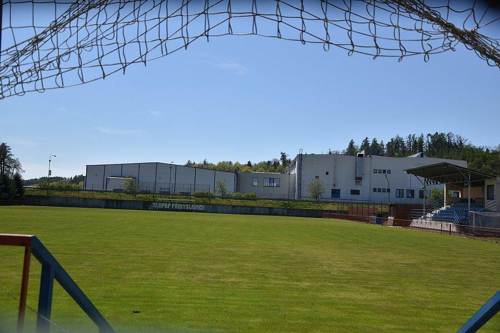 Fotbalové hřiště v Přibyslavicích