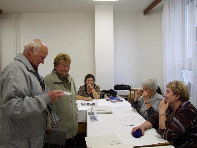 Komunální volby na Třebíčsku.