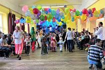 Karneval v Rokytnici nad Rokytnou.