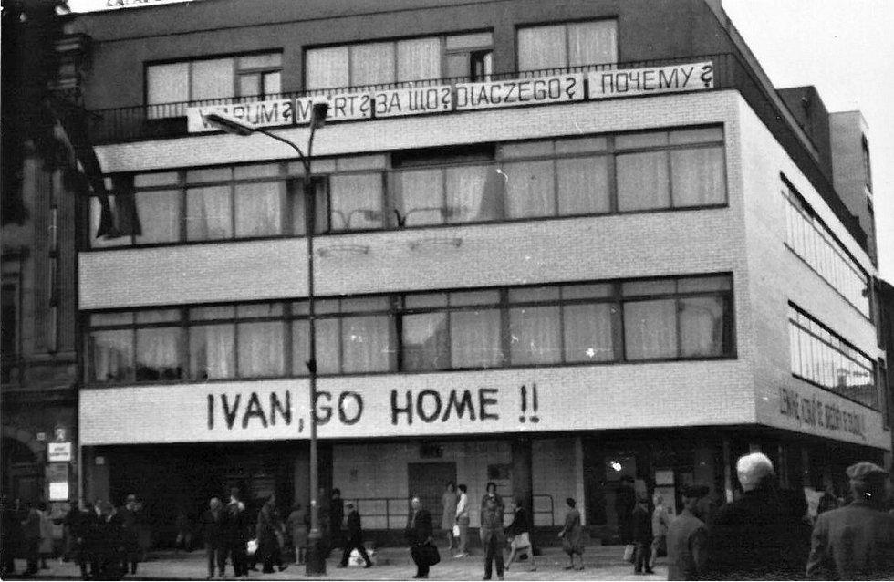Srpen 1968 v Třebíči.