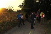 Farníci z Brtnice absolvovali noční pěší pouť do Kostelního Vydří.