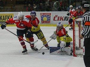 22. kolo WSM ligy mezi SK Horácká Slavia Třebíč a ČEZ Motor České Budějovice.