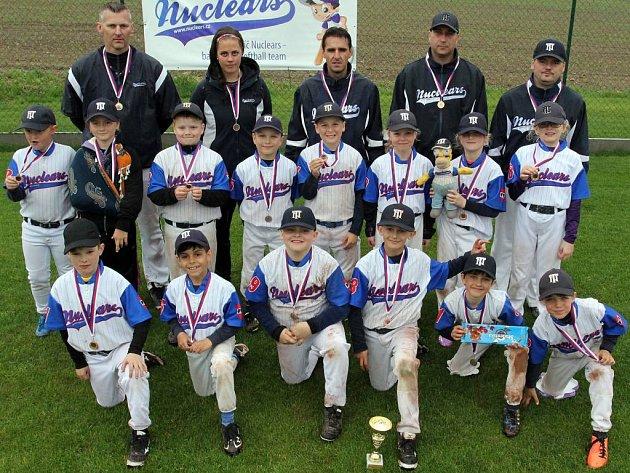 Na prvním letošním Českém baseballovém poháru ČBA, tentokrát devítiletých hráčů z Moravy, vybojovala Třebíč druhé místo.