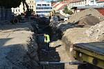 Revitalizace horní strany Karlova náměstí v Třebíči