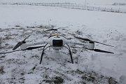 Dron nese nové zařízení z Nuvie, které dokáže přesně změřit úroveň i místo radioaktivity.