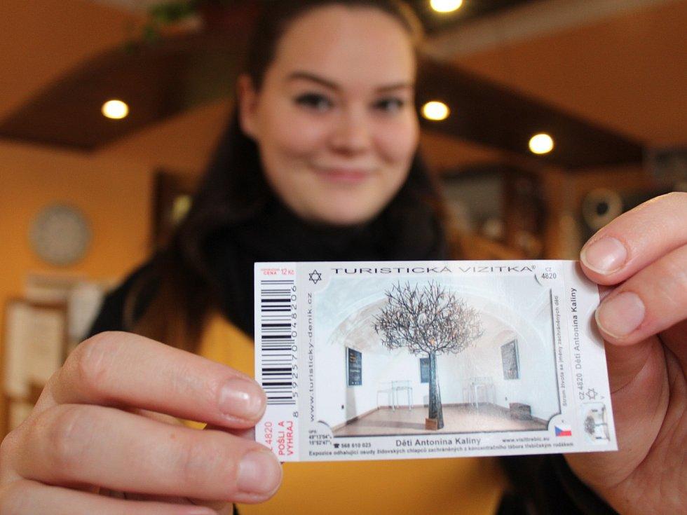 Třebíčská turistická informační centra nabízí vizitek několik. Nejnovější z nich je pamětní síň Děti Antonína Kaliny.