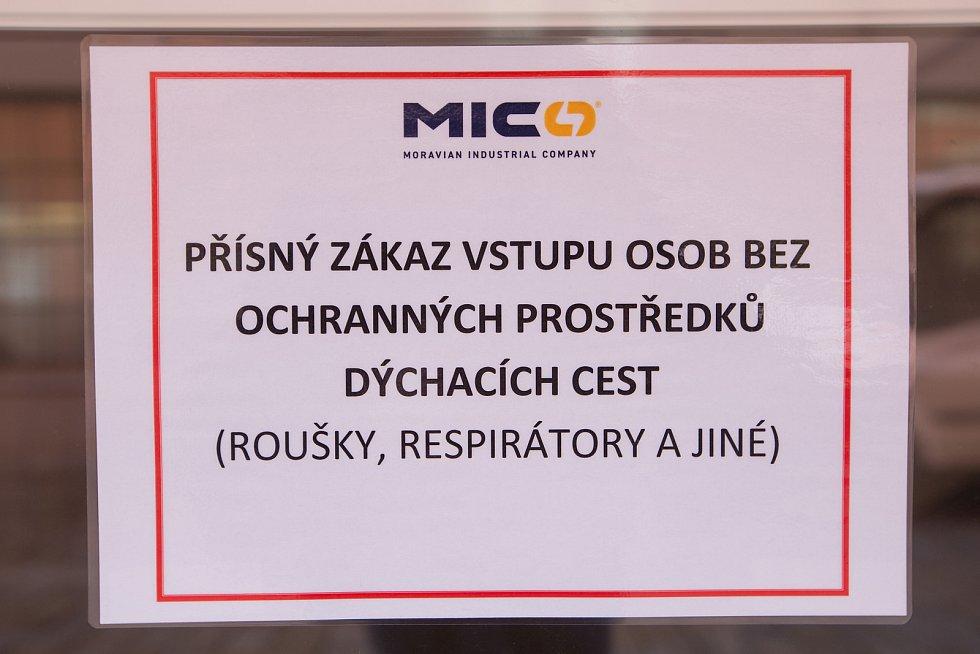 Firma MICo Třebíč.