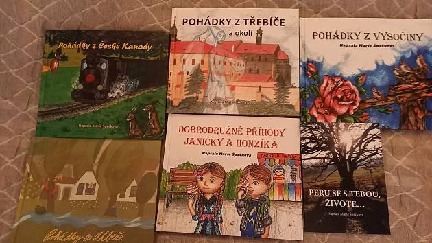 Marie Špačková napsala autorka už šest knih.