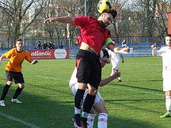 Cenný skalp si na začátku jara přispala juniorka Horáckého fotbalového klubu. Třebíčští mladíci porazili lídra I. A třídy Kouty.