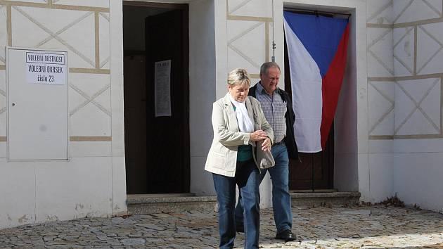 Volební okrsek číslo 23 je v Třebíči na zámku.