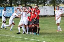 Fotbalisté Třebíče čeká v neděli favorit soutěže, budou hostit Pelhřimov.