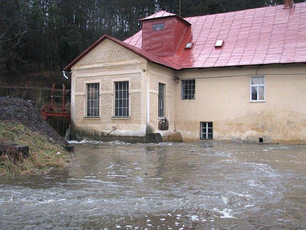 Situace na Třebíčsku v pátek dopoledne - Bransouze.