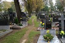 Třebíčský hřbitov.