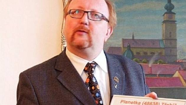 Astronom Miloš Tichý.