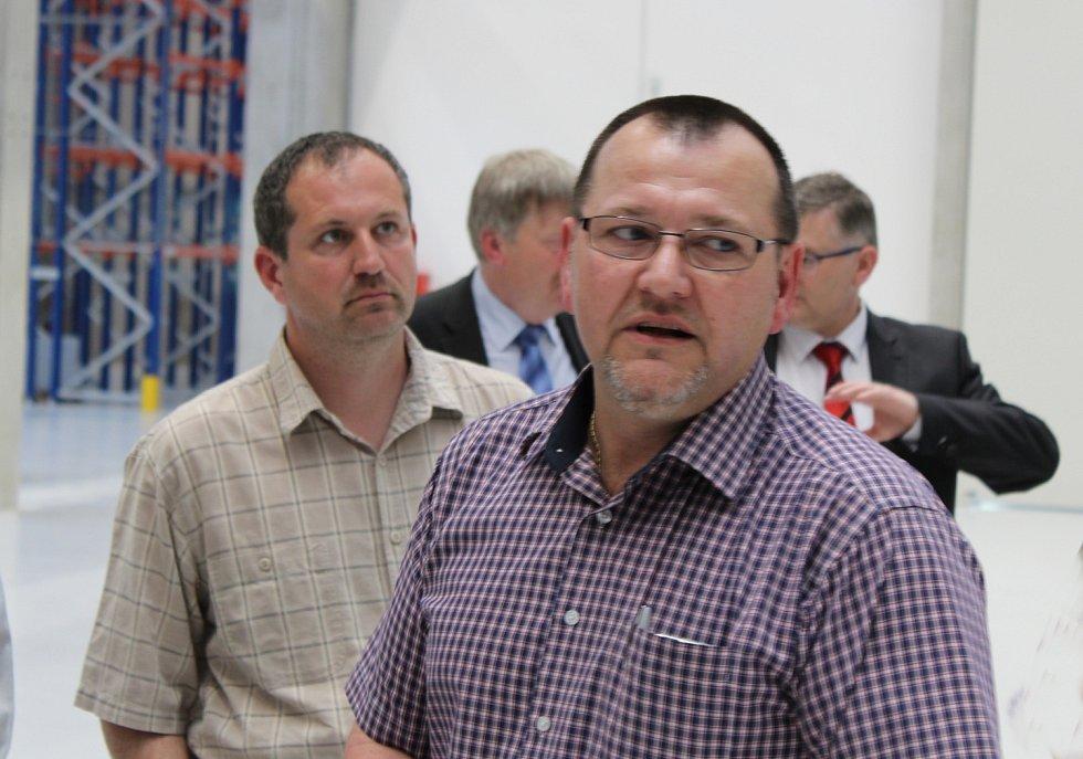 Luboš Zabák, výrobní ředitel pro novou halu.