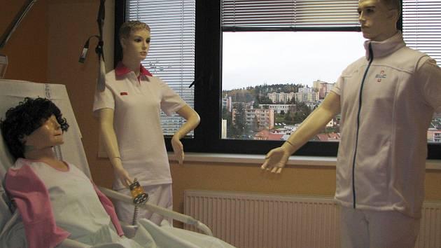 Pavilon chirurgických oborů v třebíčské nemocnici. Nese označení C a přes svoji šedou venkovní barvu, uvnitř hýří barvami, novotou a moderním vybavením.