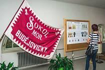 Sokolská výstava v Moravských Budějovicích.
