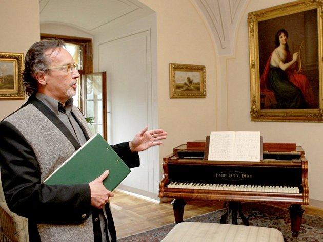Nová prohlídková trasa na zámku v Náměšti nad Oslavou - Apartmán hraběte Haugwitze.
