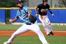 Američan Jose Flores nadělil pálkařům Blanska jedenáct strikeoutů.