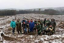 Energetici z Dukovan vysadili u Heraltic tisíce jedlí a olší.