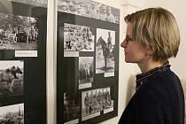 Výstava fotografií z pozůstalosti Antonína Kurky v galerii Tympanon v Třebíči.