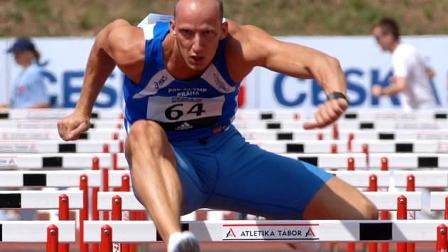Petr Svoboda v Táboře zaběhl evropský rekord na 110 metrů překážek.