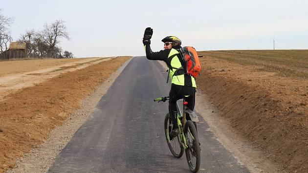 Cyklostezka mezi Hrotovicemi a Bezděkovem je uzavřená