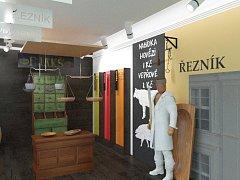 Plánovaná podoba expozic Muzea řemesel v Moravských Budějovicích.