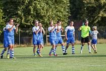 Fotbalistům Želetavy se uplynulý podzim ve východní skupině 1. A třídy vydařil více než slušně.