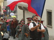 Oslavy stého výročí republiky v Třebíči.