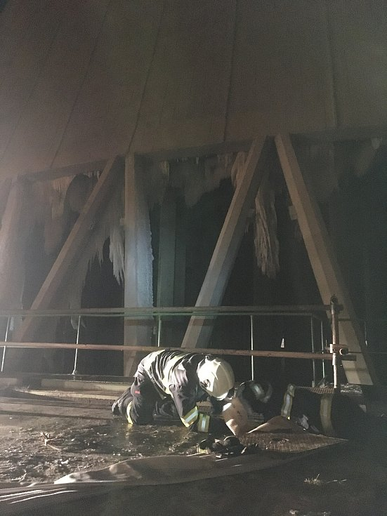 Letošní zásahy hasičů z Dukovan.