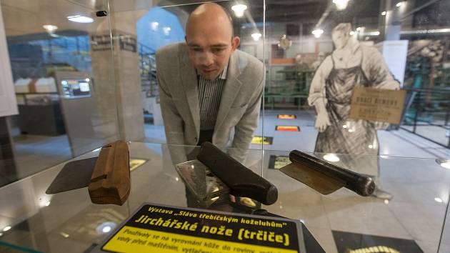 Výstava o třebíčských koželuzích v Alternátoru Třebíč.