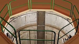 Na Jaderné elektrárně Dukovany vyzkoušeli novou metodu kontroly.