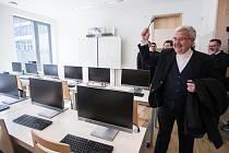 Slavnostní žehnání a otevření nové přístavby Katolického gymnázia v Třebíči.