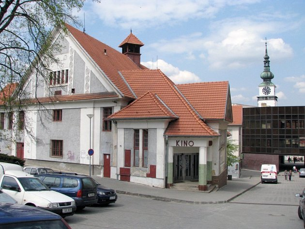 Kino Moravia bylo postaveno roku 1919.