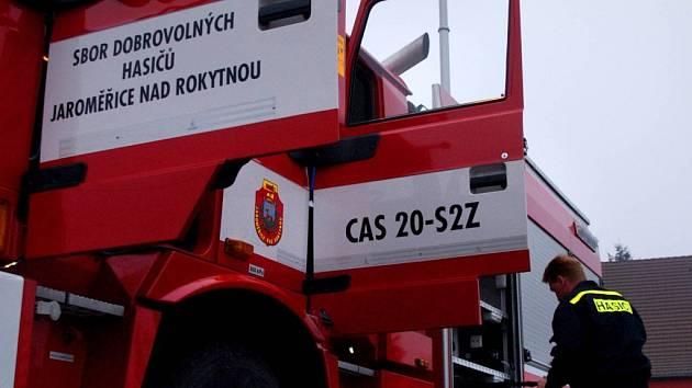 Nové hasičské auto