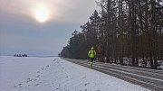 30 km běhu do práce na noční směnu.