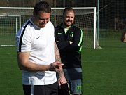Náměšťský trenér Petr Kylíšek dostal ke svým sedmatřicátým narozeninám od svých svěřenců ten nejlepší možný dárek.