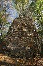 Zřícenina hradu Kraví hora.