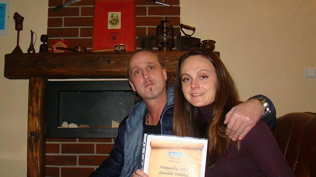 V soutěži čtenářů Deníku o nejoblíbenější restaurační zařízení na Třebíčsku zvítězila hospůdka U Lenina z Budíkovic.