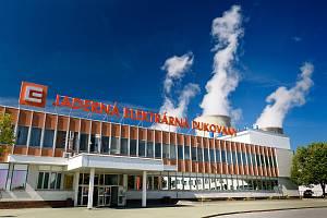 Jaderná elektrárna v Dukovanech.