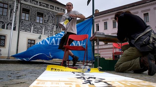 Pouť Amnesty International odstartovala v Třebíči.